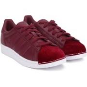 ADIDAS ORIGINALS SUPERSTAR W Sneakers For Women(Maroon, Red)