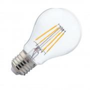 Bec Led Glob Filament E27 6W Alb Cald