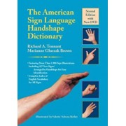 The American Sign Language Handshape Dictionary 'With DVD', Hardcover/Richard A. Tennant