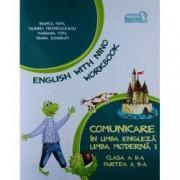 English with Nino. Comunicare in limba engleza. Limba moderna 1. Workbook. Clasa a II-a Partea a II-a