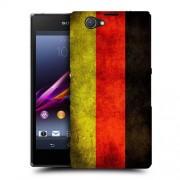 Husa SONY Xperia Z1 Compact Silicon Gel Tpu Model Germany Flag