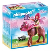 Playmobil Forest Fairy Surya with Horse, Multi Color