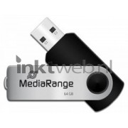 MediaRange USB-stick - zwart