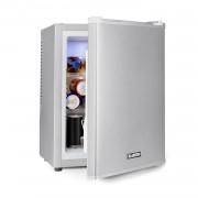 Klarstein Happy Hour 32, minibar, 32 l, 5 – 15 °C, clasa energetică A+, silențios, 0 dB, lumină LED, argintiu (HEA-HappyHour-32Slb)