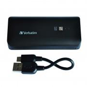 Portable Power Pack, 2600mAh - Black