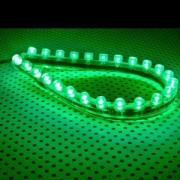 Tub flexibil LED Lamptron FlexLight Standard 24x LED Venom Green
