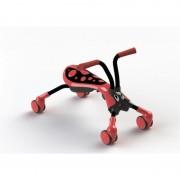 Tricicleta pliabila Scramble Bug Beetle Red Black Mookie