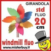 GIRANDOLA STD 20 CM FLUO