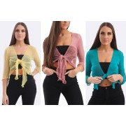 Love My Fashions Limited £6.98 (from Love My Fashions) for a ladies' Ashlee tie-front shrug