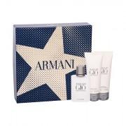 Giorgio Armani Acqua di Gio Pour Homme confezione regalo Eau de Toilette 50 ml + balsamo dopobarba 75 ml + doccia gel 75 ml uomo
