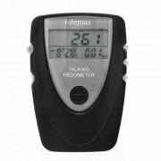 Pedometru cu ceas vorbitor în limba engleză - Disponibil la comandă