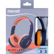 Слушалки блутут MAXELL с големи наушници BT800 HP Blue/Orange