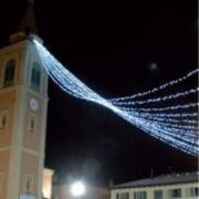 > LED - stringa prolungabile 120 led bianchi