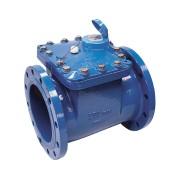 Contor industrial de apă rece Bmeters, tip WDE, Woltman axial cu cadran uscat, cu 7 role DN 250/10