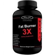 Sinew Nutrition Natural Fat Burner 3X (Green Tea Green Coffee Garcinia Cambogia Extract) - 700 mg (90 Veg Capsules)