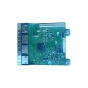 Placa de filha de rede PCIe Intel Ethernet I350 de 1 Gigabit e Quatro portas da Dell, Cuskit 540-BBHF