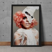 Quadro Decorativo Lady Gaga 35x25