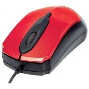 Mouse Ottico USB MO2 1000dpi Rosso