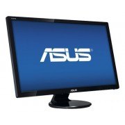 "ASUS - 27"" Widescreen Flat-Panel LED HD Monitor (DVI, HDMI, VGA) - Black"