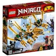 Конструктор Лего Нинджаго - Златният дракон, LEGO NINJAGO, 70666