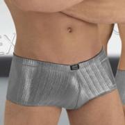 Eros Veneziani Underwear Reflections Boxer Brief Silver 6971