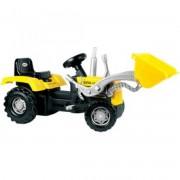 Dolu pedálos traktor markolóval - 106 cm - Járművek