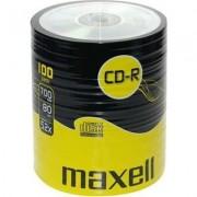 CD-R80 MAXELL, 700MB, 52x, 100 бр -