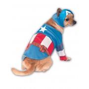 Vegaoo Hunddräkt Captain America Medium (40)