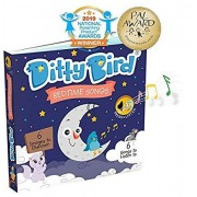 Ditty Bird Our Best Interactive Bedtime Songs Book for Babies. Interactive Musical Book for Toddlers. Educational Music Toys for 1 Year Old. Sound Boo