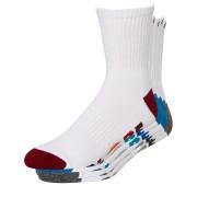 Globe Multi Stripe 5 Pack Of Socks Size 7-11 White Multi