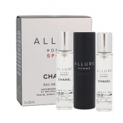 Chanel Allure Homme Sport eau de toilette twist and spray 3x20 ml Uomo