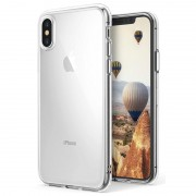 Capa de silicone Ultra Slim Pro para iPhone X / iPhone XS - Transparente