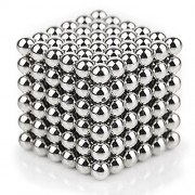 Magnetic Ball Puzzle Sculpture DIY Toys for Intelligence Development and Stress Relief (5MM Set of 216 Balls