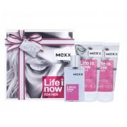 Mexx Life is Now 30ml Edt 30ml + 2x50ml shower gel Per Donna (EDT)
