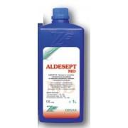 АЛДЕСЕПТ MD- 1 л. - Концентриран алдехиден препарат за високостепенно почистване и дезинфекция на медицински инструменти и апаратура.