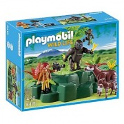 Playmobil Gorillas And Okapis With Film Maker Set