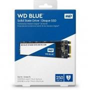 WD Blue 3D NAND SSD 250GB, M.2 2280, R550/W525 WDS250G2B0B