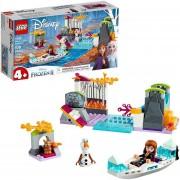 Set LEGO Frozen II Expedición en la Canoa de Anna y Anna Funko Pop