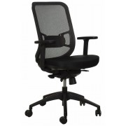 FOPOL - GN Swivel office chair GN-310/GREY with seat sliding system
