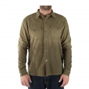 Camisa Hombre Haka Honu Leñador-Verde Militar