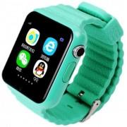 """Smartwatch iUni V8K, 1.54"""", GPS, Bratara silicon (Turcoaz)"""