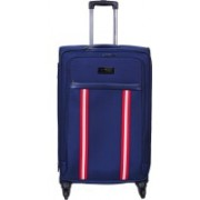 Tommy Hilfiger Portland Stripe Expandable Check-in Luggage - 28 inch(Blue)