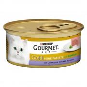 Gourmet Megapack Gold Mousse 48 x 85 g - Carbonero con zanahoria