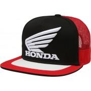 Fox Honda Snapback Sombrero Negro Rojo un tamaño