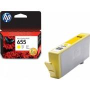 Mастилена касета HP 655 /655/ - Yellow (Зареждане на CZ112AE)