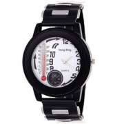 Katrodiya Round Dail Black Other And Rubber StrapMens Quartz Watch For Men