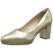 Clarks Women's Kelda Hope Gold Metallic Loafers and Moccasins - 3.5 UK/India (36 EU)