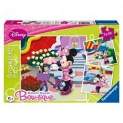 Puzzle Minnie Mouse, 3x49 piese Ravensburger
