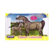 Breyer Model Horses Classic Grey Sport Horse and Foal