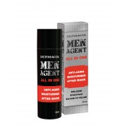 Dermacol Men Agent 50Ml Anti-Aging Moisturiser After Shave All In One Per Uomo(Aftershave Balm)